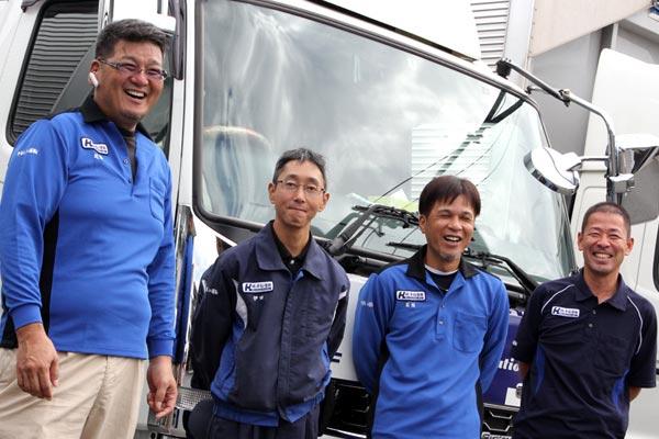 平松運輸のドライバーたち